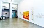 Raumansicht in der Galerie, Ausstellung Barbara Petzold, En Hod, 2017