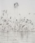 Kyung-Hwa Choi Ahoi, Augen Äpfeln Nasen Blüh, 2015, Bleistift auf Papier, 90 x 110 cm