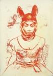 Ransome Stanley, o.T., Mischtechnik auf Papier, 2017, 50 x 60 cm