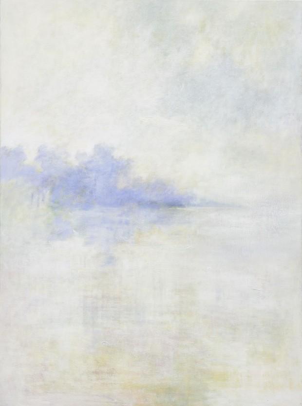 Cris Pink, Luz y calma, 2013, Öl auf Leinwand, 81 x 60 cm