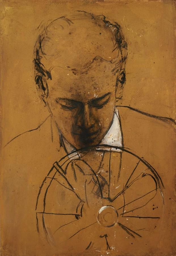 Ransome Stanley, Serie Safari II, 2012, Mischtechnik, 100 x 70 cm