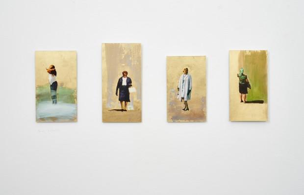 Thomas Kälberloh, Serie Ikone, 2017, Mixed Media_Aludibond, ca. 23 x 43 cm