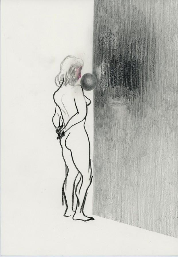 Kyung-hwa Choi – ahoi, Ball, 2017, 21x30cm