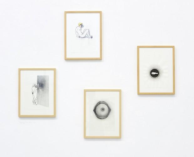 Kyung-hwa Choi-ahoi in der Ausstellung EROS, September 2017