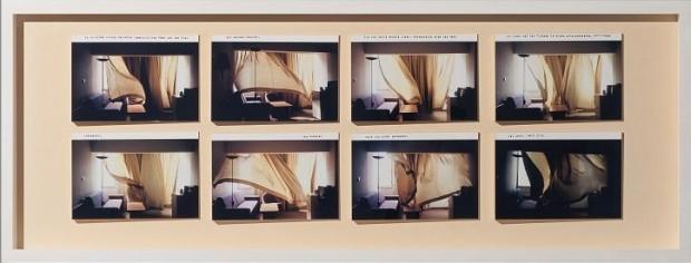 Nina Rhode, Tel Aviv, 2005, C-Print auf Karton, Fotoobjekt, Unikat, 40x19 cm, zweiteilig (2)