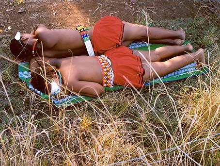 Zwelethu Mthethwa, Maidens 30, 2006, Diasec, 71x57 cm, Ed. 4+2 AP