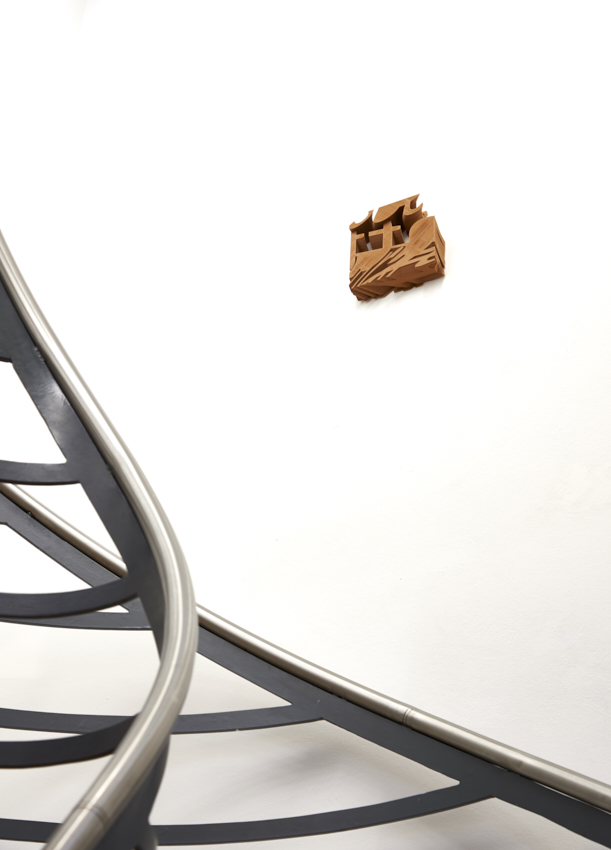 Fabian Hesse, Bits of Information (chocolate), 3D Druck, PLA, Unikat, 2017, 19 x 18,5 x 5 cm