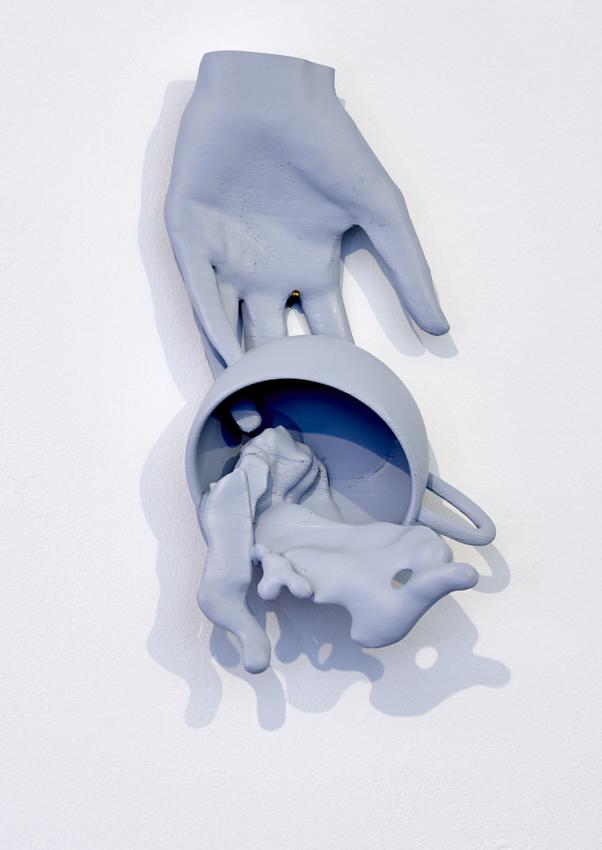 Fabian Hesse, Oops in slow-motion, 3D Druck, PLA, Unikat, 2018, 30,5 x 17 x 10 cm