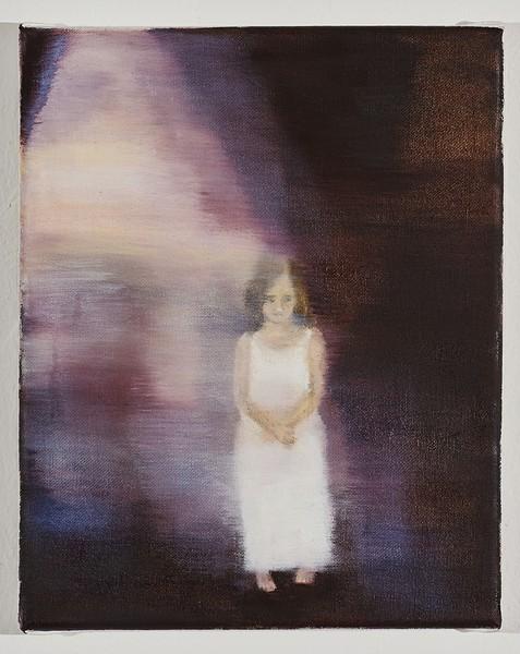 Barbara Petzold, Das besondere Kind, 2017, Öl auf Leinwand, 30 x 40 cm