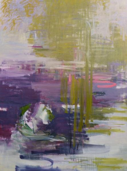 Cris Pink, Luz de tarde, 2013, Öl auf Leinwand, 130 x 97 cm