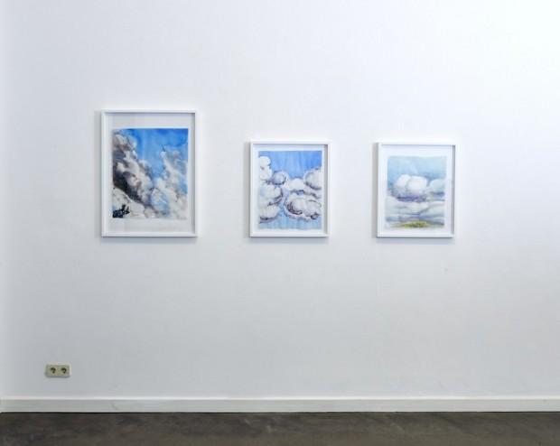 Galerieansicht mit Werken von Cony Theis