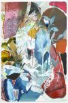Pascal Vilcollet, Place Monge Nr. 2, 2018, Öl, Acryl, 196 x 129,5 cm