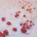 Cris Pink, Mohn des Vergessens, 2018, Öl auf Leinwand, 70 x 70 cm
