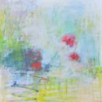 Cris Pink, Mohngeflüster, 2017, Öl auf Leinwand, 70 x 70 cm