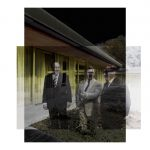 Dirk Brömmel, KB Nr. 34, 1978_2016 (Schmidt, Genscher, Kissinger), ©Bundesregierung_Fotograf unbekannt, Dirk Brömmel, Mixed Media Aludibond, 110 x 110 cm, Ed. 4