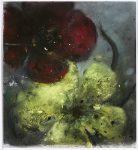 Flower Studies V, 2020, Pastellkreide, 33x30cm
