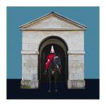 Wächter 21 (London), 2020, Mixed Media / Aludibond, gerahmt, B 1/5, 75 x 75 cm