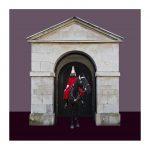 Wächter 22 (London), 2020, Mixed Media / Aludibond, gerahmt, B 1/5, 75 x 75 cm