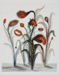 Liebeslied, 2020, Öl auf Papier, 50 x 40 cm