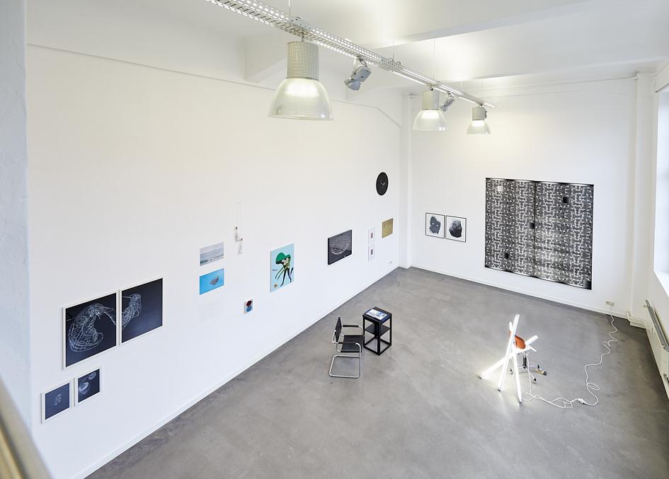 Ausstellungsansicht von der Empore
