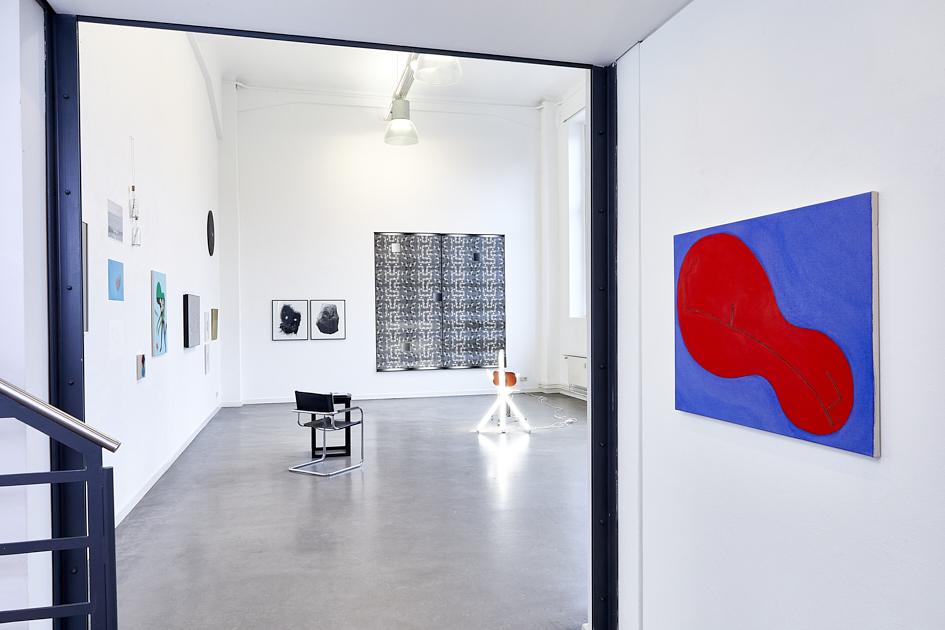 Galerieansicht vom Eingang