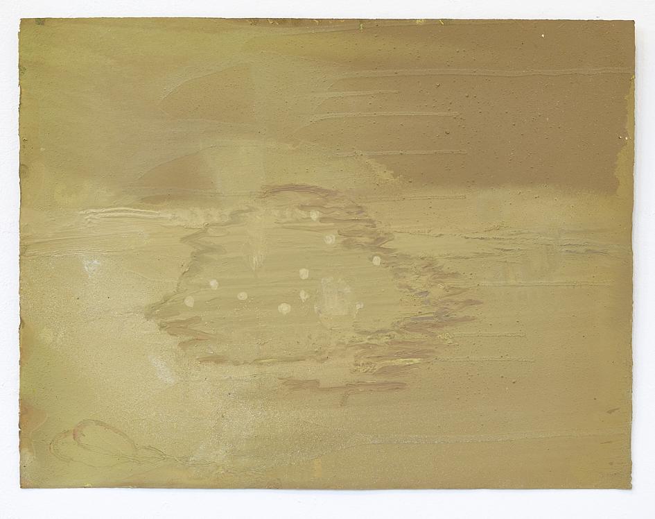 Nikos Valsamakis, Insel Keros, 2020, Öl, Pigmente, auf Papier, 65 x 50 cm_952€