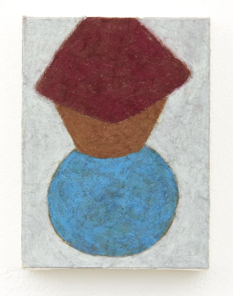 Nobuko Watabiki, o. T., 2019, Ölpastell auf Japanpapier, 20 x 15 cm_850€