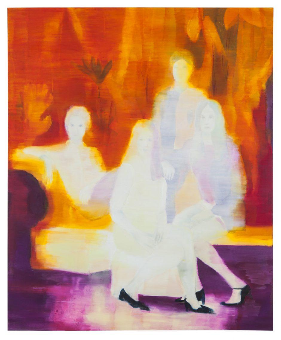 Dim Recollection, 2019, Öl auf Nessel, 173,5 x 145 cm