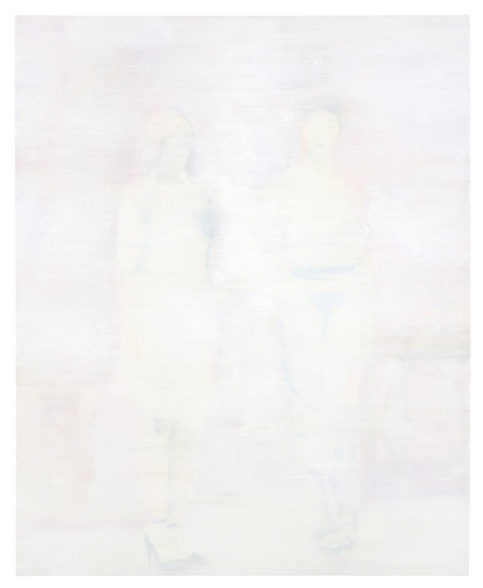 Dim Recollection II, 2020, Öl auf Nessel, 175 x 145 cm