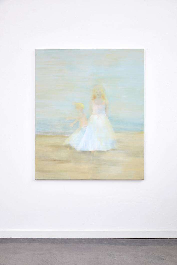 Nordseekrabben, 2020, Öl auf Nessel, 125 x 150 cm