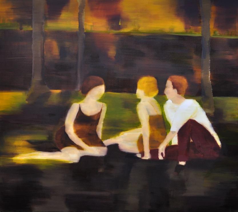 Sommer, 2013, Öl auf Nessel, 160 x 180 cm