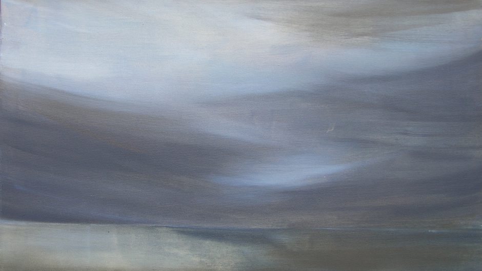 Sylt, 2020, Öl auf Nessel, 55 x 95 cm