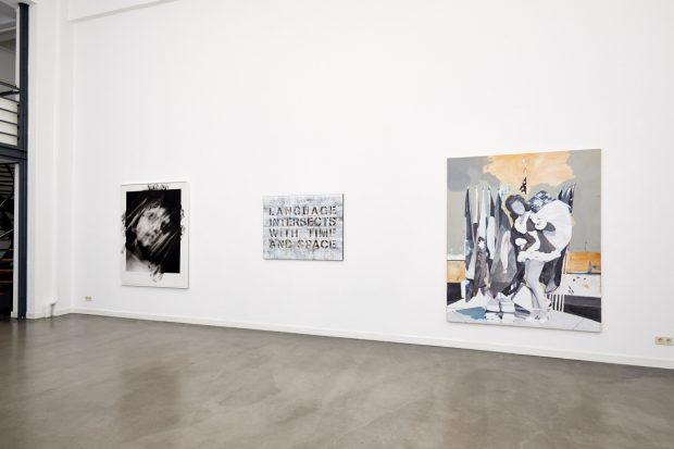 Ausstellung Carte Blanche 2018: Galerie Längswand