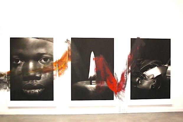 Ausstellung RE-MEMBER 2016, Längswand