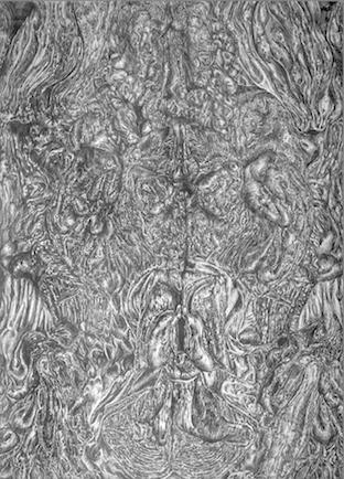 Strömungen I-III, 2006, Bleistiftzeichnung, 80 x 60 cm